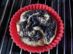 Mohn-Marillen-Muffin-Schnecken
